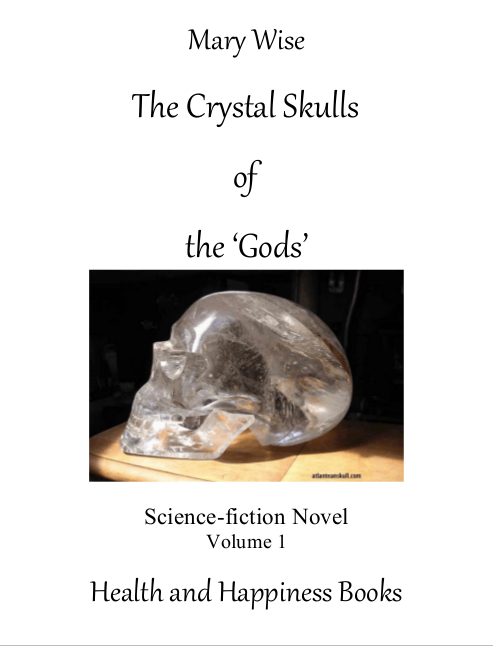 Image of the cover of The Crystal Skulls of the 'Gods'