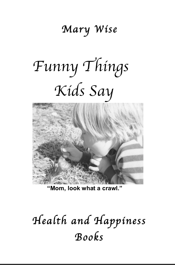 Image of the cover of Funny Things Kids Say