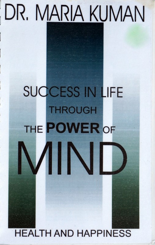 Image of the cover of Success in Life Through the Power of Mind